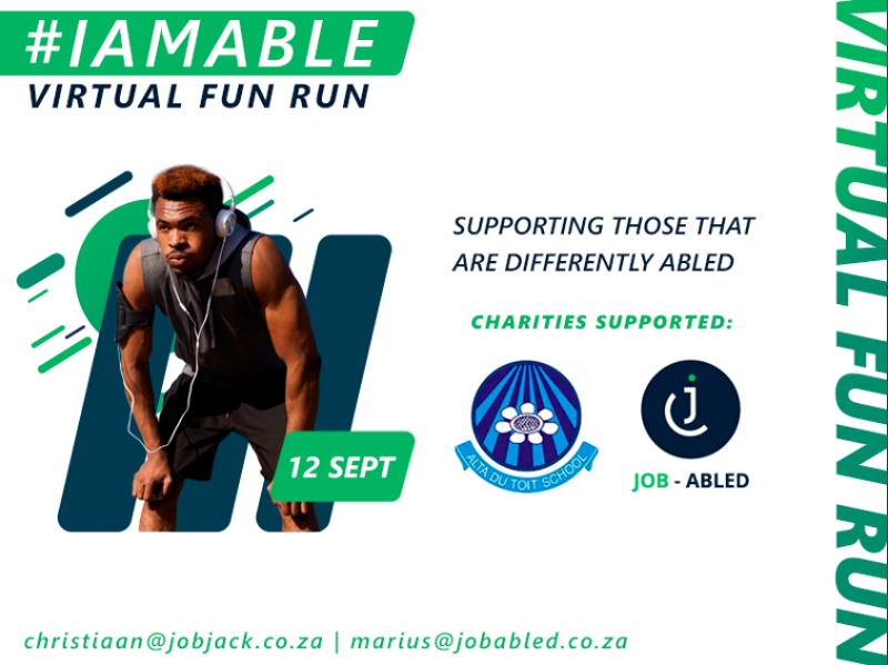 #IAmAble Virtual Fun Run